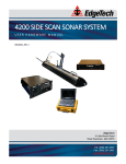 4200 Side Scan Sonar System User Hardware Manual