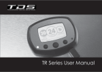 TR Series User Manual - Technology Driven Solutions