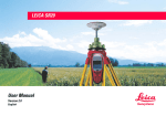 LEICA SR20 User Manual