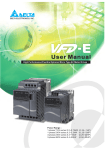 Delta - VFD-E - user manual - Galco Industrial Electronics