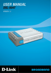 DLink DSL504T Manual - AuNix Internet and Telecom