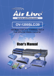 AirLive OV-1200SLC/20 User`s Manual