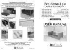 User Manual - Pro Bario Bed