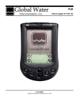 Global Logger Palm Software Manual