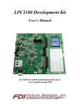 NXP LPC3180 Demo User`s Manual Rev2