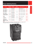 Controller Catalog (Section) - Power Switching Devices