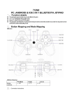 710WI PC ,ANDROID & IOS 3 IN 1 BLUETOOTH JOYPAD
