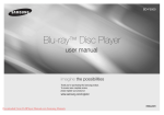 Samsung BD-F5500 User Guide Manual - DVDPlayer