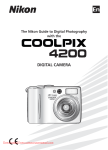 Nikon Coolpix S4200 Digital Camera User Manual pdf