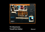 Using TonePrint Editor