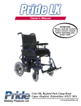 Pride LX - Pride Mobility Products