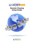 Remote Viewin Setup Guide Remote Viewing Setup Guide