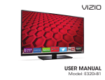 USER MANUAL - Specs and reviews at HDTV Review