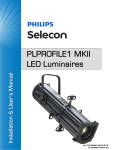 PLPROFILE1 MKII LED Luminaire - User`s