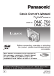 Panasonic DMC ZS8 User Manual