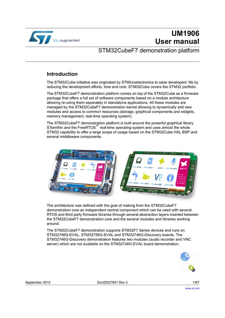 user manual PDF - STMicroelectronics