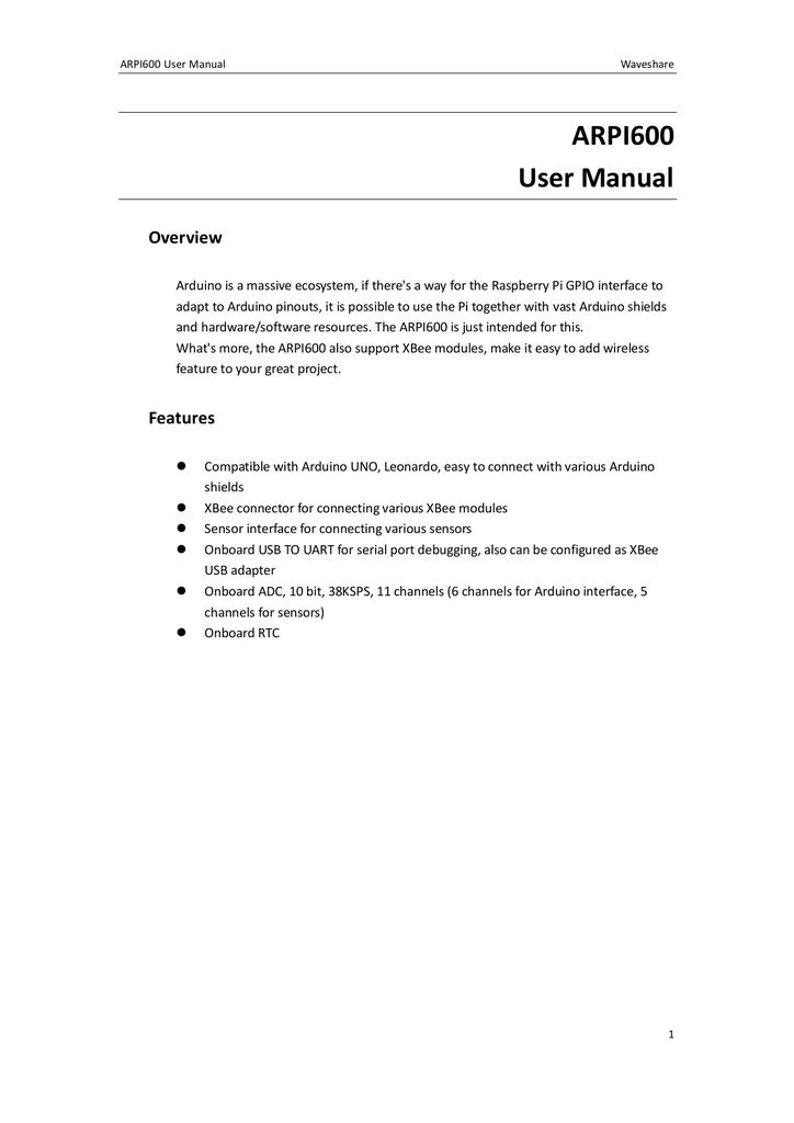 Arpi600 User Manual Serial Close Wiringpi 005891087 1 59220095e246c8d19b98ed7b208286ef