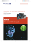 MINIE Ultra-compact night vision goggle