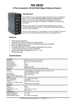 NS-205G 5-Port Industrial 10/100/1000 Mbps Ethernet Switch