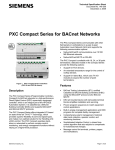 PXC Compact Series for BACnet Networks