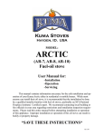 Click to see the Kuma Arctic Owners Manual