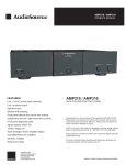 AudioSource AMP210 / AMP310 Owners Manual