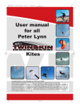 User manual for all Peter Lynn Kites