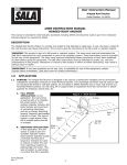 user instruction manual hinged roof anchor