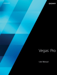 Vegas Pro 13.0 User Manual
