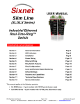 User Manual - Industrial Ethernet Warehouse