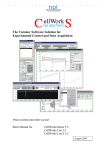 CellWorks© Short Manual - NPI Electronic Instruments