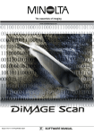DiMAGE Scan Software