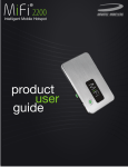 Novatel Wireless MiFi 2200 User Guide