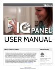 Qolsys IQ Panel User Guide