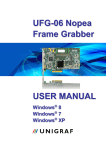 UFG-06 Nopea HDDP User Manual