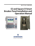 E2 and Square D Smart Breaker Panel Installation