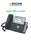 Yealink T28P User Guide