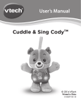 User`s Manual Cuddle & Sing CodyTM