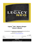 Legacy Neo Battery Charger Manual
