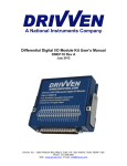 PFI Driver Module Kit - National Instruments
