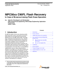 C90FL Flash Recovery - Freescale Semiconductor