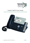 Yealink T26P IP User Guide