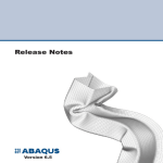 ABAQUS Release Notes
