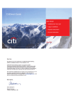 CitiDirect Guide