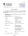 Tender Document - Oil India Limited