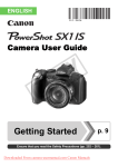 Canon PowerShot SX1 IS User Guide Manual pdf