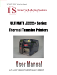 ULTIMATE 3000XT Series Printers User Manual