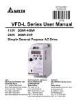 VFD-L Series User Manual