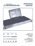 Manual - Applied Instruments, Inc.