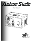 Amhaze™ Studio User Manual Rev. 1